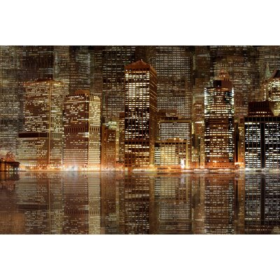 JORDAN CARLYLE Architecture Night Vision Wall Art