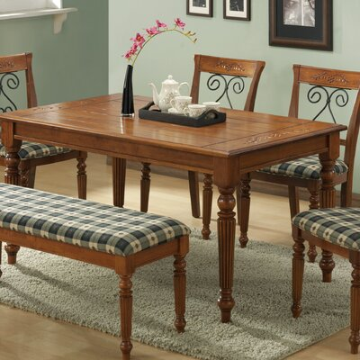Monarch Specialties Inc. Waterfall Dining Table