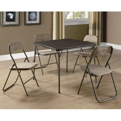 Monarch Specialties Inc. 5 Piece Game Table Set