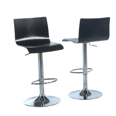 Monarch Specialties Inc. Hydraulic Lift Barstool (Set of 2)