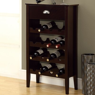 Monarch Specialties Inc. 16 Bottle Wine Rack