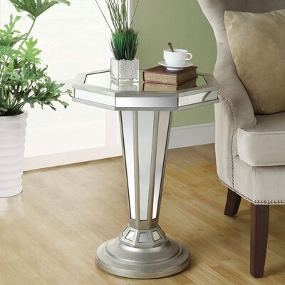 Monarch Specialties Inc. Mirrored End Table