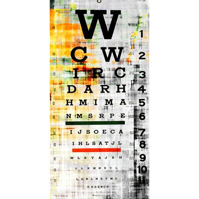 Parvez Taj Eye Chart Wall Art