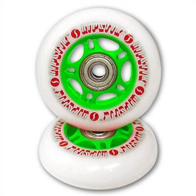 Razor RipStik Caster Board Replacement Wheel Set in Green (Set of 2)