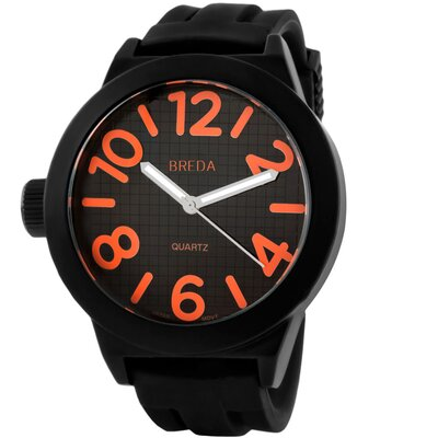 "Breda Men""s Jaxon Watch in Orange"