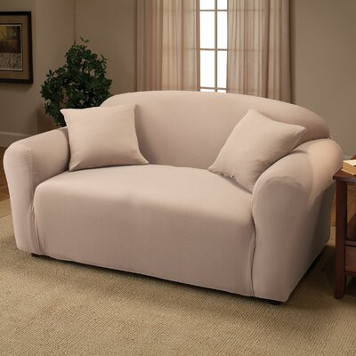 Madison Home Stretch Jersey Loveseat Slipcover