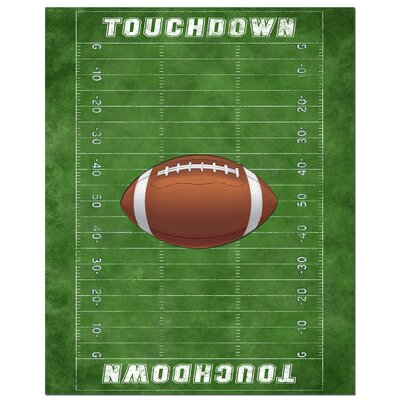 Secretly Designed Football Field Art Print