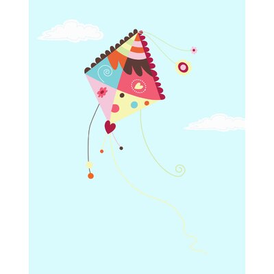 Secretly Designed Kite in the Sky Wall Decal