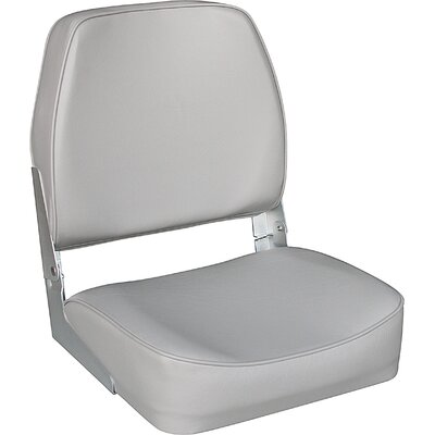 Unified Marine Low Back Cushion Seat in Grey