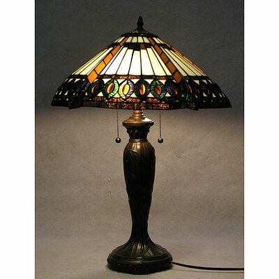 Warehouse of Tiffany Half-Moon Table Lamp