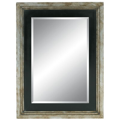Avant Garde Wall Mirror in Distressed Silver