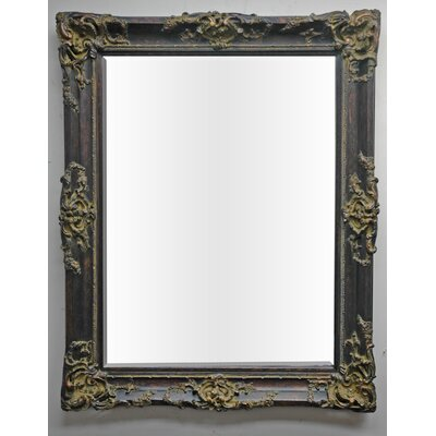 Ornate Elegance Wall Mirror in Dark Gold