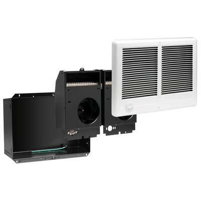 Cadet Com-Pak Plus Twin 3000W Fan Forced Wall Heater in White