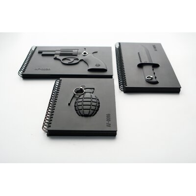 Molla Space, Inc. Megawing Armed Notebook