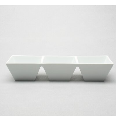 TAG Whiteware Rectangular Divided Dish