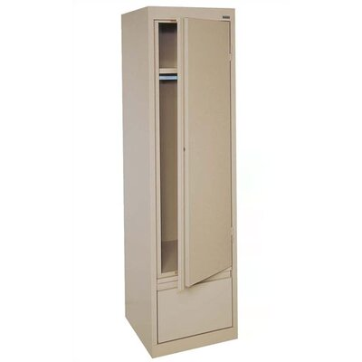 Sandusky Cabinets Systems Series Single Door Wardrobe