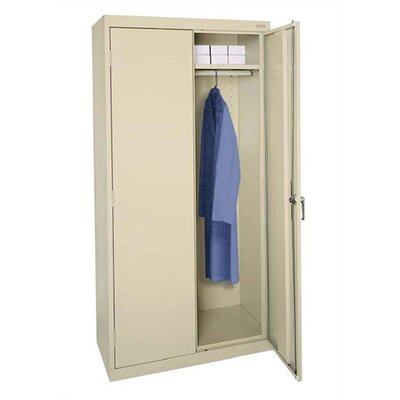 Sandusky Cabinets Classic Plus Tall Mobile Wardrobe Cabinet