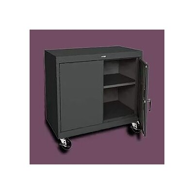 "Sandusky Cabinets Transport Wide Single Shelf Work Height Storage - 36"" x 36"" x 18"""