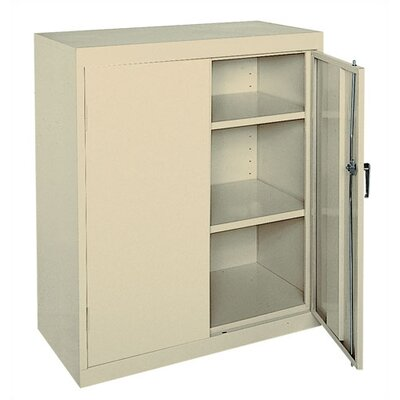 Sandusky Cabinets Easy Assemble Counter Height Cabinet