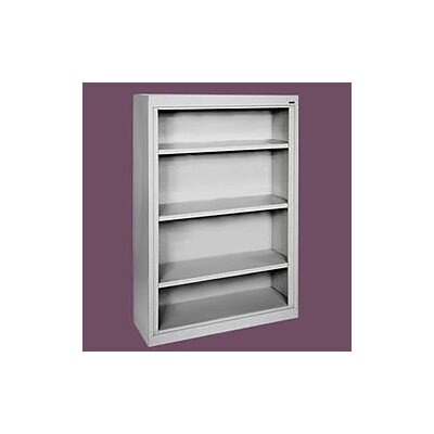 "Sandusky Cabinets 52"" H Deep Four Shelf Bookcase"