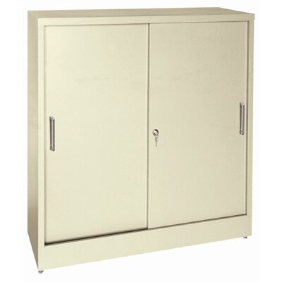 "Sandusky Cabinets 42"" Storage Cabinets with Sliding Door"