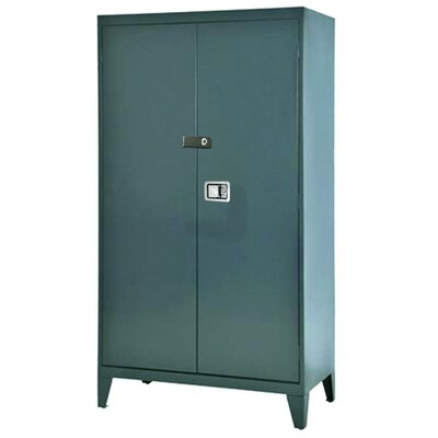 Sandusky Cabinets Extra Heavy Duty Storage Cabinet in Charcoal