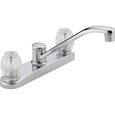 Peerless Faucets Two Handle Centerset Kitchen Faucet