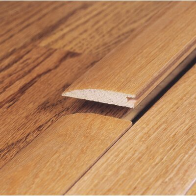 "Moldings Online 78"" Solid Hardwood Unfinished Pecan Reducer for 9/16"" Floors"