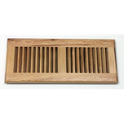 "Moldings Online 5-5/8"" x 11-1/4"" Pecan Wood Surface Mount Vent"