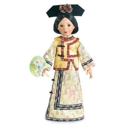 "Carpatina Qing Dynasty Princess Outfit for 18"" Slim Dolls"