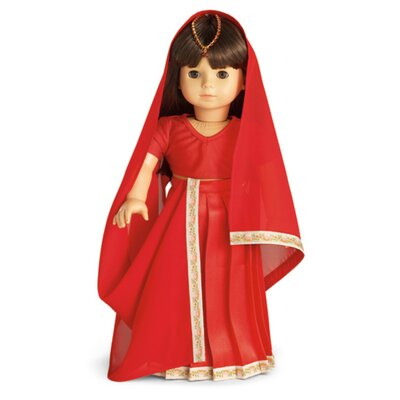 Carpatina American Girl Dolls Indian Sari Outfit Only