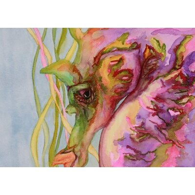 Blackwater Design Cousins Series Sable the Seahorse 24 x 30 Wrap Canvas