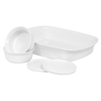 Corningware French White Mini Bake and Serve Set