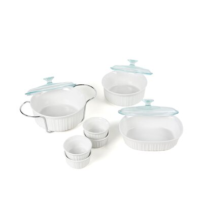 Corningware French White 14 Piece Bakeware Set