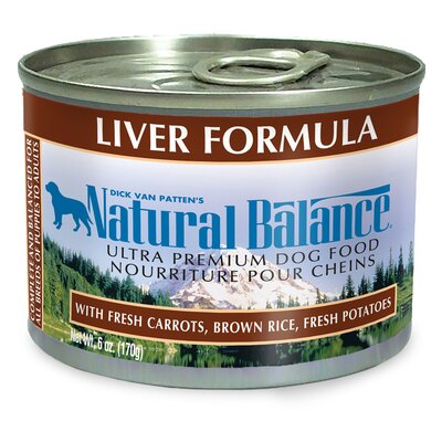 Natural Balance Liver Formula Wet Dog Food (13-oz, case of 12)