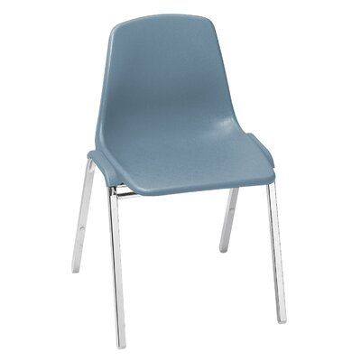 "National Public Seating Poly Shell 18"" Plastic Classroom Stacking Chair"