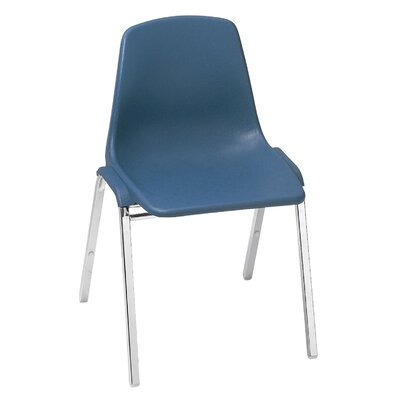 National Public Seating Poly Shell Chair with Optional Tablet Arm