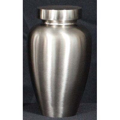 K-L Enterprises Spartan Urn in Brushed Nickel