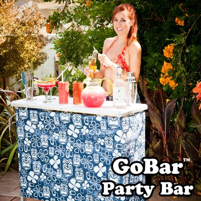 GoPong The GoBar Portable High Top Bar