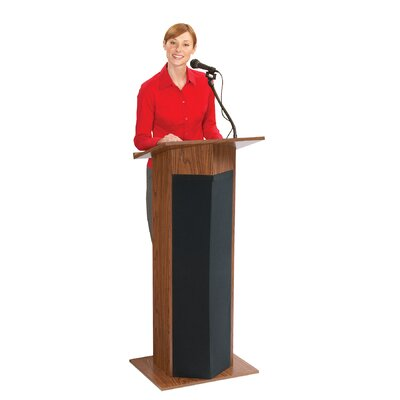 Oklahoma Sound Corporation Power Plus Full Size Lectern #111PLS