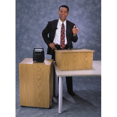 Oklahoma Sound Corporation Portable Lectern and Base