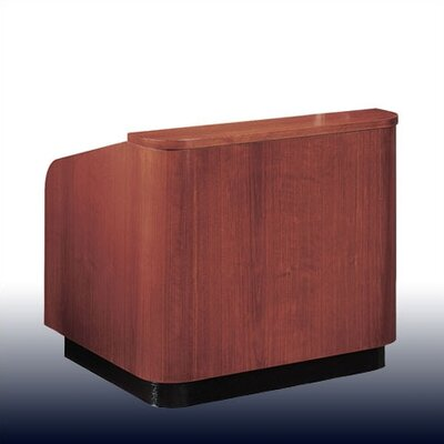 Oklahoma Sound Corporation Veneer Contemporary Table Lectern