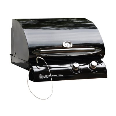 The Outdoor GreatRoom Company 24&quot; Cook Number Black Porcelain Gas Grill Head