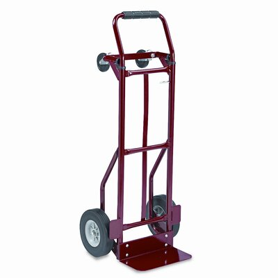 Safco Products Company Two-Way Convertible Hand Truck, 400Lb Capacity