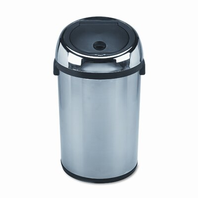 Safco Products Company Kazaam 17 Gallon Hands Free Trash Can