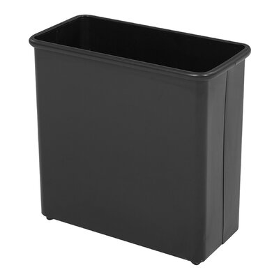 Safco Products Company 27.5 Qt Rectangular Wastebasket