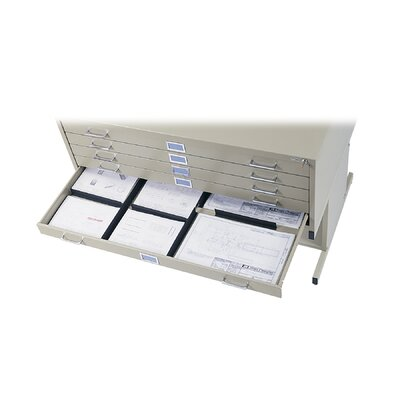 Safco Products Company Drawer Dividers in Black