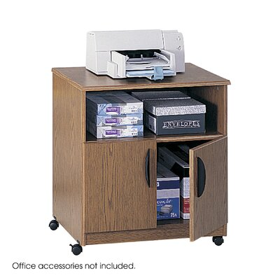 Safco Products Company Laminate Machine Stand with Open Compartment