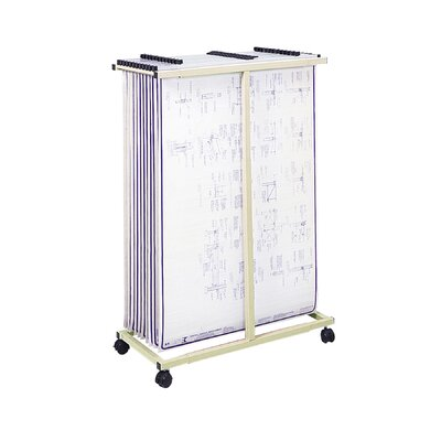 Safco Products Company Mobile Vertical File