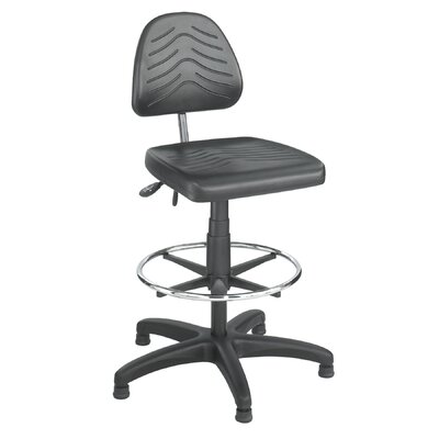 Safco Products Company Height Adjustable Task Chair with Drafting Kit